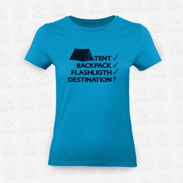 T-shirt Feminina Destination – STAMP – Loja Online