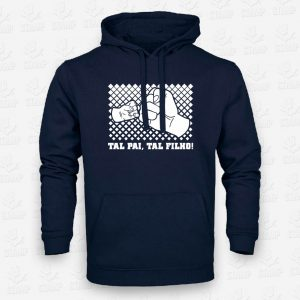 Hoodie Tal pai tal filho – STAMP – Loja Online de T-shirts