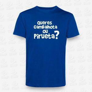 T-shirt Criança Cambalhota ou Pirueta – STAMP – Loja Online