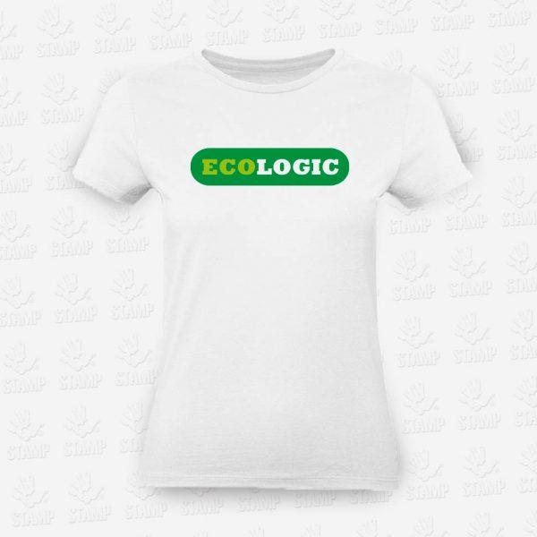 T-shirt Feminina Eco Logic – STAMP – Loja Online