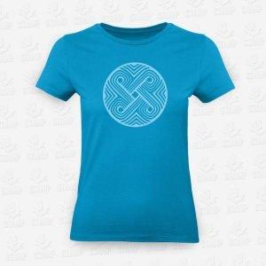 T-shirt Feminina Mandala Circular – STAMP – Loja Online