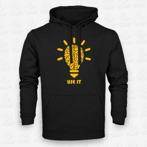 Hoodie Use it – STAMP – Loja Online de T-shirts