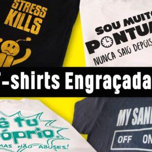 T-shirts engraçadas