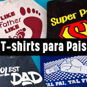 T-shirts para Pais
