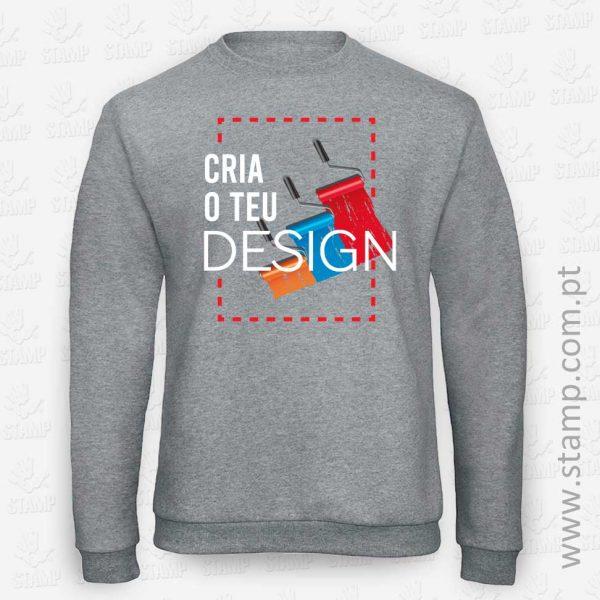Personalização Online de Sweatshirts – STAMP – Loja Online de T-shirts