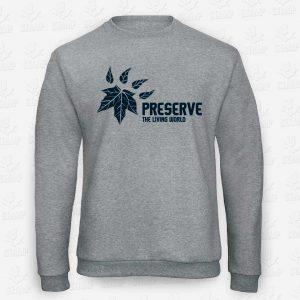 Sweatshirt Criança Preserve the living world– STAMP – Loja Online de T-shirts
