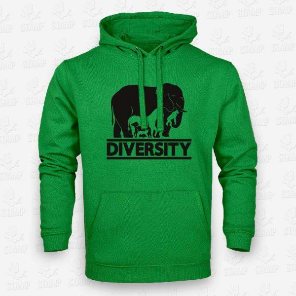 Hoodie Diversity – STAMP – Loja Online de T-shirts