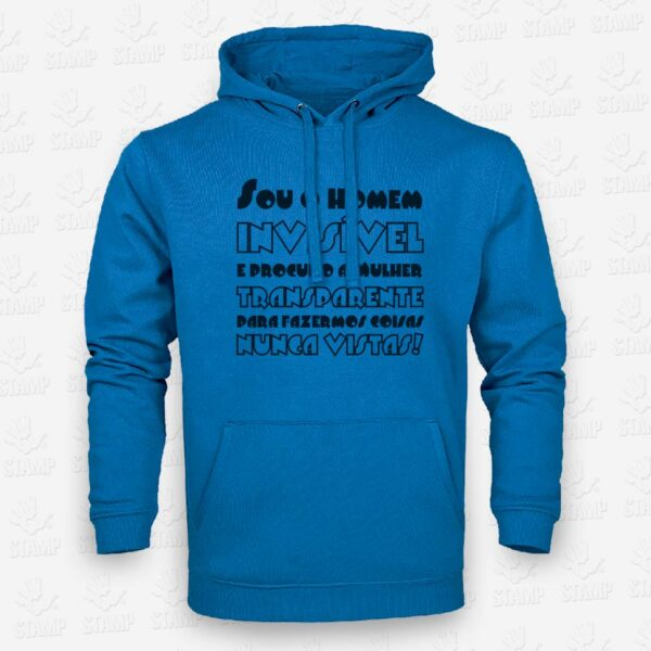Hoodie Coisas Nunca Vistas – STAMP – Loja Online de T-shirts