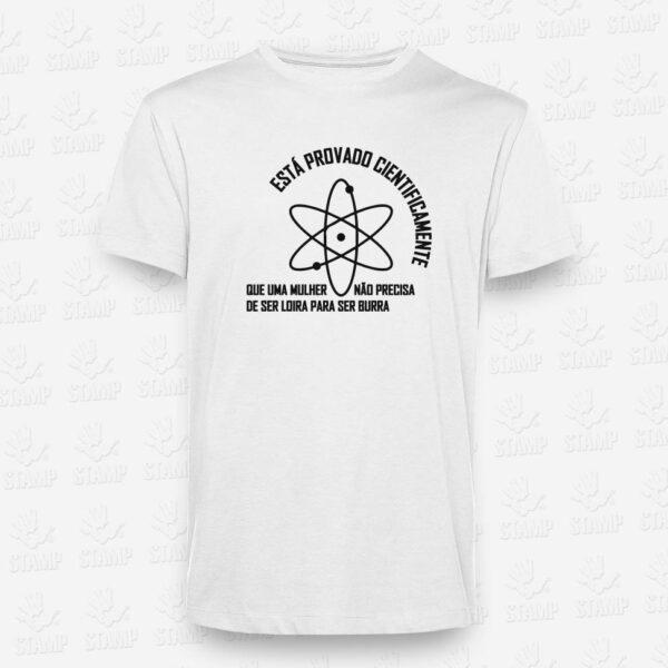T-shirt Cientificamente Provado – STAMP – Loja Online