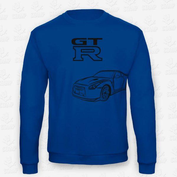 Sweatshirt GT-R – STAMP – Loja Online de T-shirts