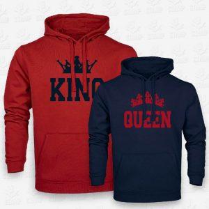 Hoodies King & Queen – STAMP – Loja Online de T-shirts