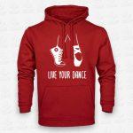 Hoodie Live your Dance – STAMP – Loja Online de T-shirts