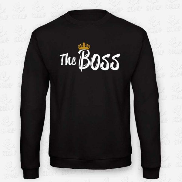 Sweatshirt The Boss – STAMP – Loja Online de T-shirts