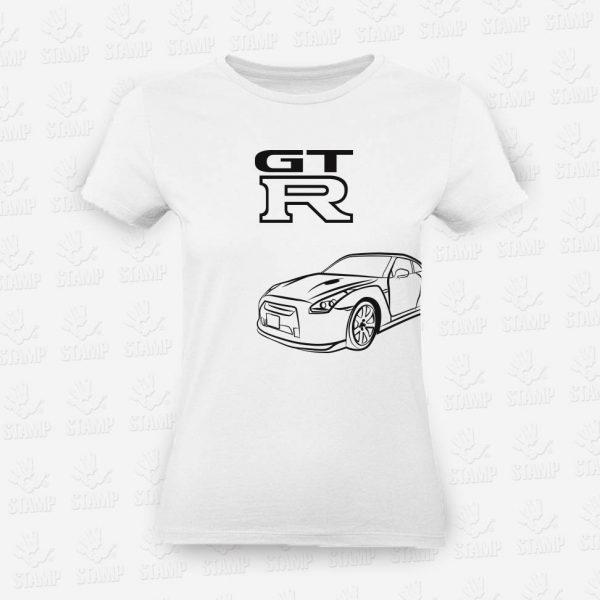 T-shirt Feminina GT-R – STAMP – Loja Online