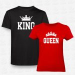 T-shirts King & Queen – STAMP – Loja Online