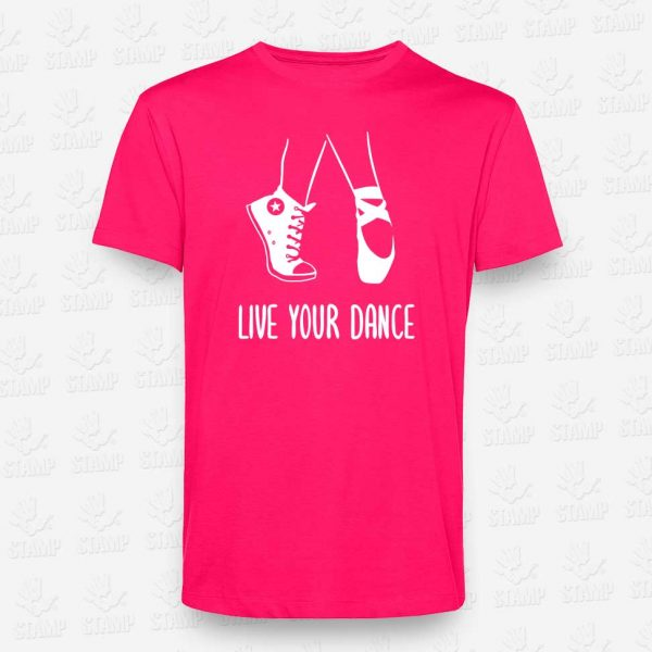 T-shirt Criança Live your Dance – STAMP – Loja Online