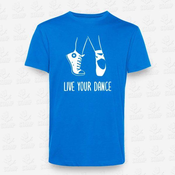 T-shirt Live your Dance – STAMP – Loja Online