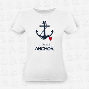 T-shirt Feminina ANCHOR – STAMP – Loja Online