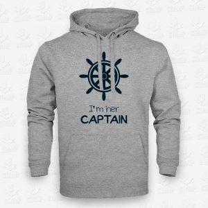 Hoodie CAPTAIN – STAMP – Loja Online de T-shirts