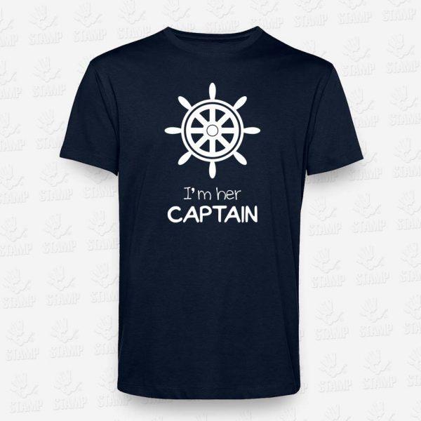 T-shirt CAPTAIN – STAMP – Loja Online