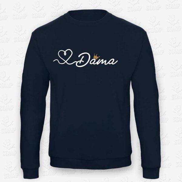 Sweatshirt Dama – STAMP – Loja Online de T-shirts