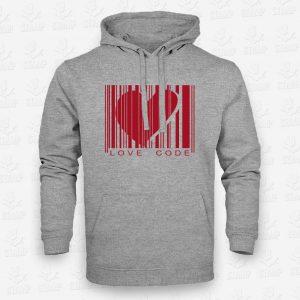 Hoodie Love Code II – STAMP – Loja Online de T-shirts
