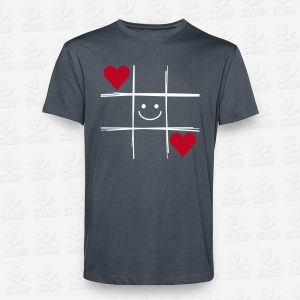 T-shirt Smile Hearts – STAMP – Loja Online