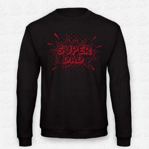Sweatshirt Super Dad – STAMP – Loja Online de T-shirts