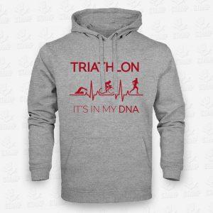 Hoodie Triathlon DNA – STAMP – Loja Online de T-shirts