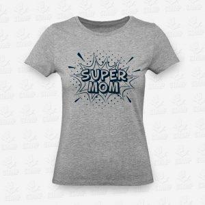 T-shirt Feminina Super Mom – STAMP – Loja Online