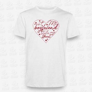 T-shirt My Boyfriend – STAMP – Loja Online