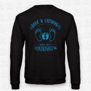 Sweatshirt BEBÉ A CAMINHO - Padrinho aceitas? – STAMP – Loja Online de T-shirts