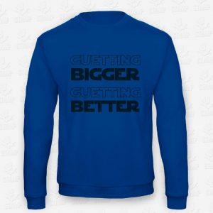 Sweatshirt de Criança Getting Bigger, Getting Better – STAMP – Loja Online de T-shirts